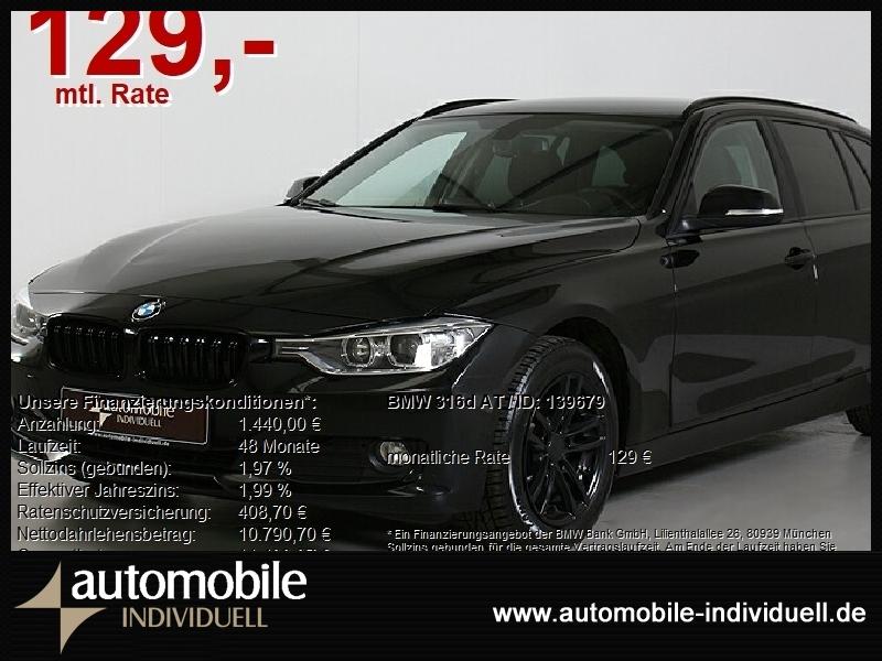 BMW 316d Aut. EU6! Navi PDC Bluetooth Sitzh., Jahr 2015, Diesel