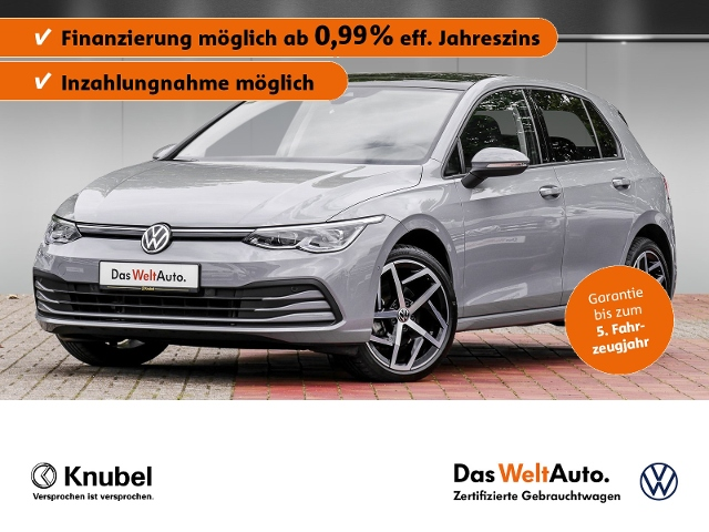 Volkswagen Golf VIII Life 2.0 TDI Pano Navi Matrix Keyless, Jahr 2020, Diesel