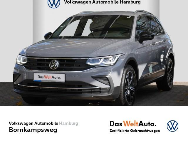 Volkswagen Tiguan 1,5 TSI United NAVI/PDC/AHK, Jahr 2021, Benzin
