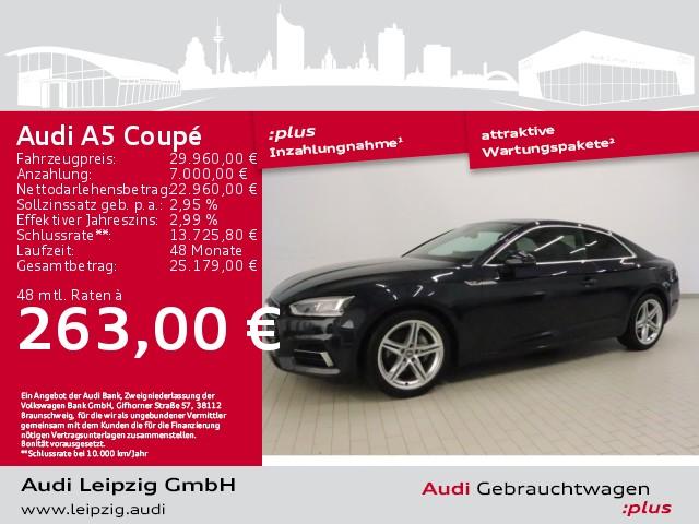 Audi A5 Coupe 2.0TDI sport *Audi virtual cockpit*LED*, Jahr 2018, Diesel