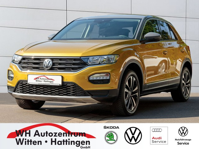 Volkswagen T-Roc 1.5 TSI UNITED NAVI AHK ACC PDC SITZHZG, Jahr 2020, Benzin