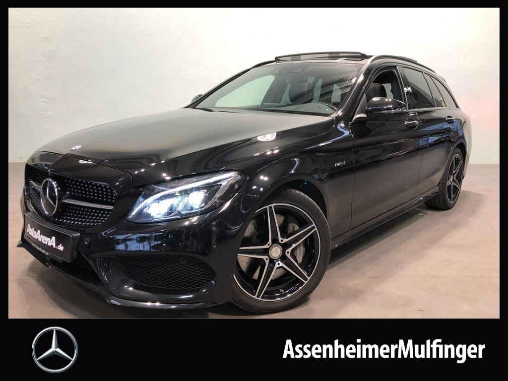 Mercedes-Benz C 450 AMG 4matic T **COMAND/360°/Pano/Night, Jahr 2016, Benzin