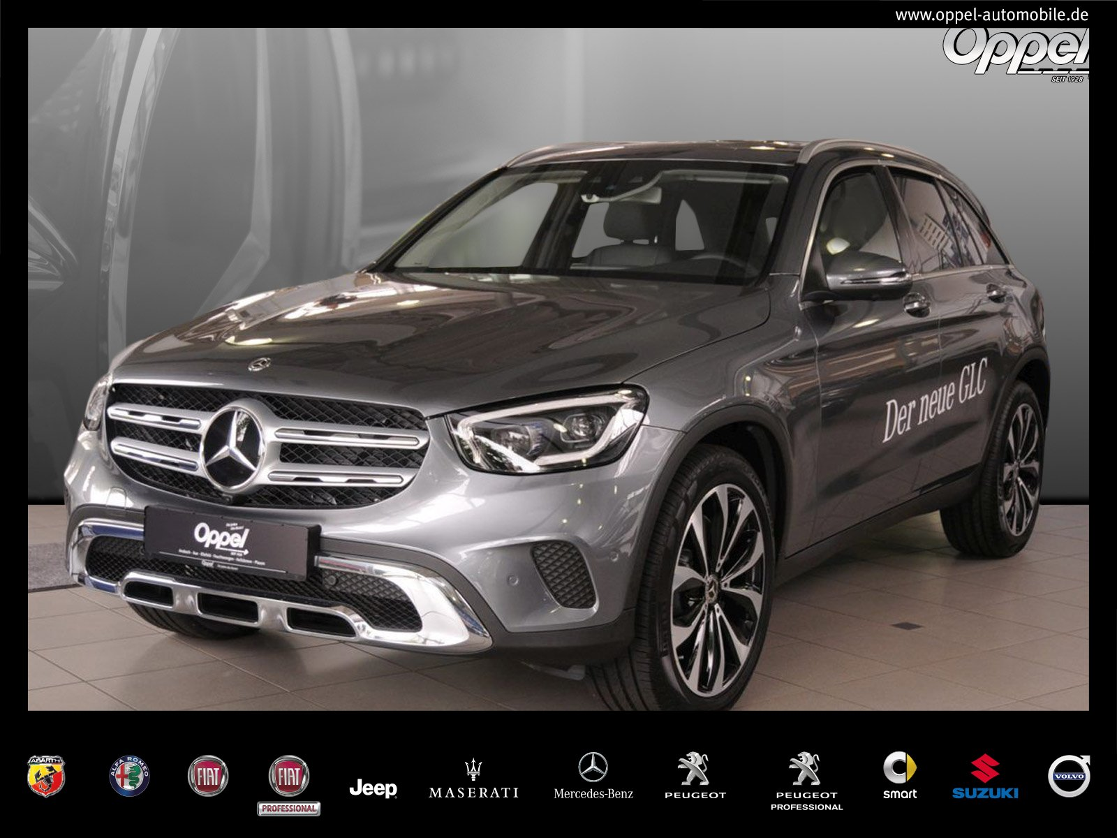 Mercedes-Benz GLC 300 d 4MATIC 360°-K+SOUNDS.+HIGH-END PAKET, Jahr 2019, Diesel