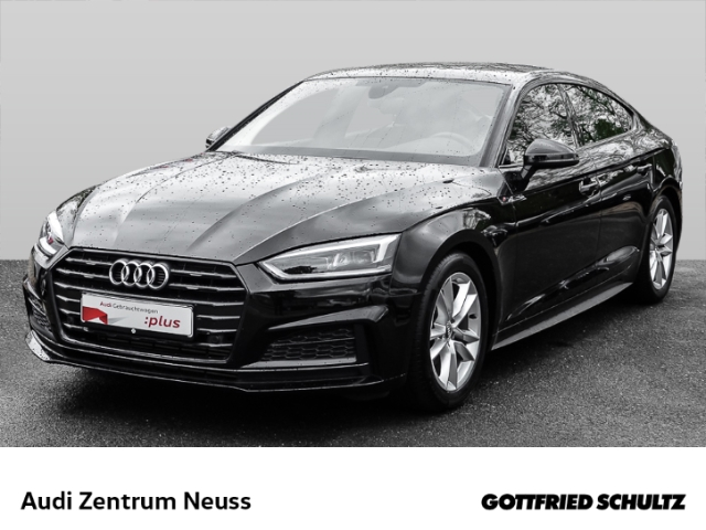 Audi A5 Sportback 2.0 TFSI S-tronic S-line NAVI LED S line, Jahr 2019, Benzin