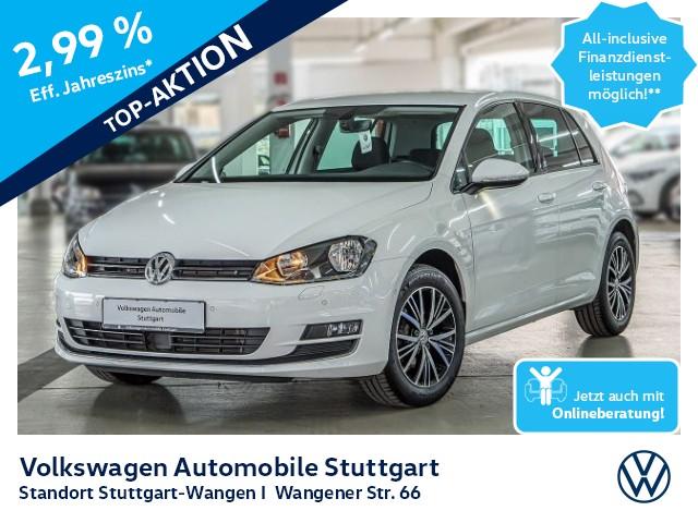 Volkswagen Golf Allstar 1.2 TSI Bluetooth PDC SHZ GRA, Jahr 2016, Benzin