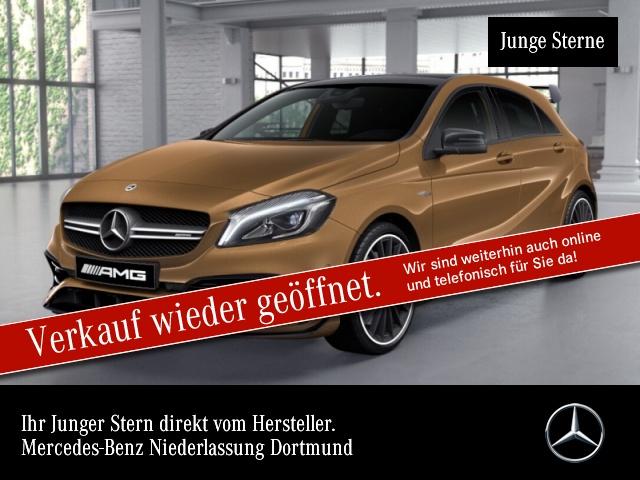 Mercedes-Benz A 45 AMG 4Matic Sportpaket Bluetooth Navi LED, Jahr 2017, Benzin