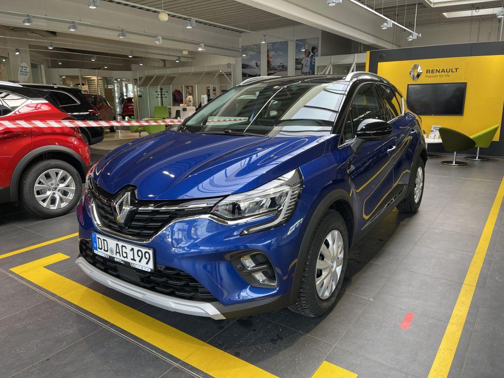 Renault Captur TCe 130 GPF INTENS+9,3-Zoll Navi+Sitzhei, Jahr 2020, Benzin