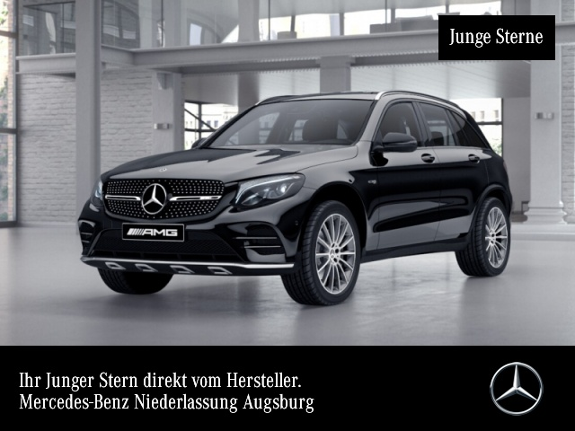 Mercedes-Benz GLC 43 4MATIC Sportpaket Navi LED Klima, Jahr 2019, Benzin