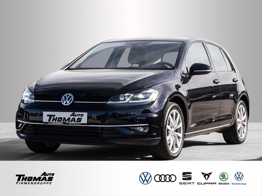 "Volkswagen Golf VII ""Highline"" 1.5 TSI DSG LED+NAVI+ACC, Jahr 2019, petrol"