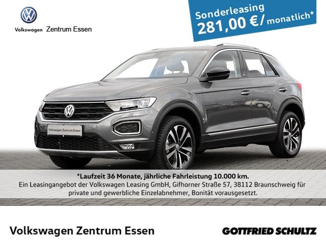 Volkswagen T-Roc United 1,5 TSI NAVI LED KAMERA PDC ALU17, Jahr 2020, Benzin