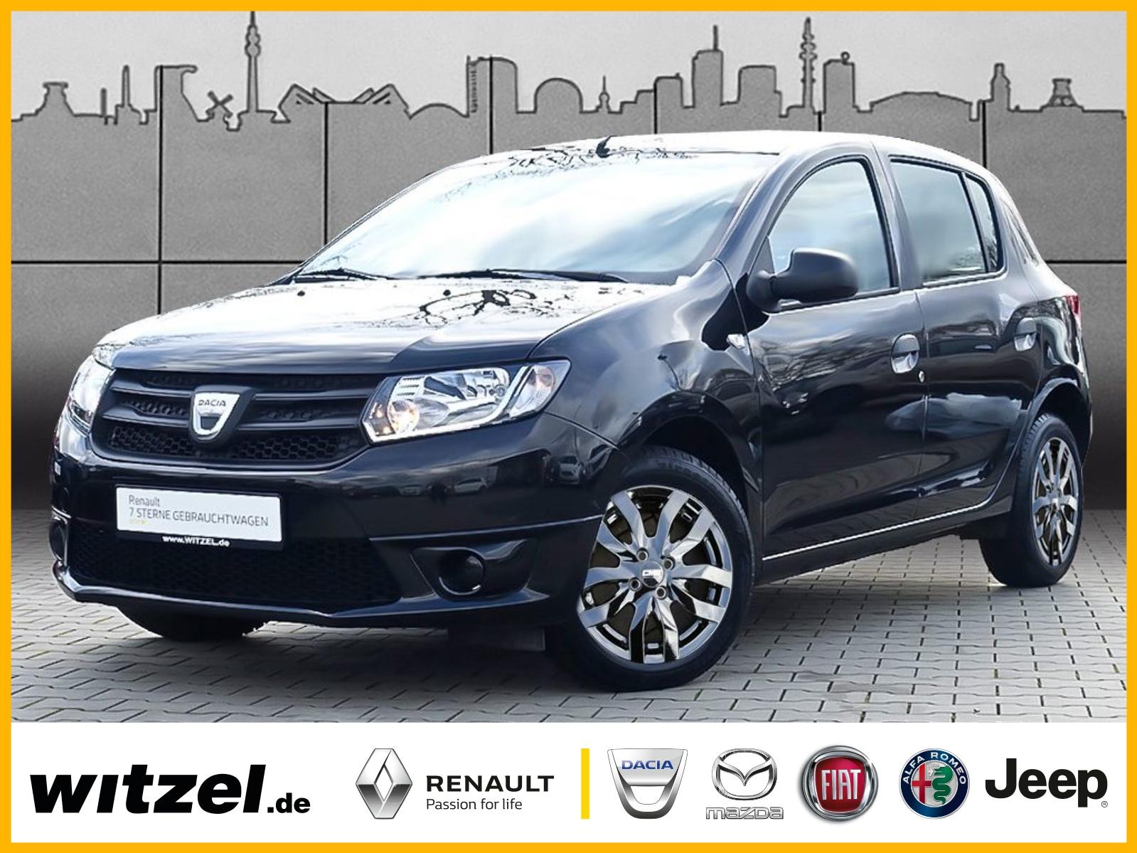 Dacia Sandero 1.2-16V Ambiance KLIMA BT ZV USB eFH LM, Jahr 2015, Benzin