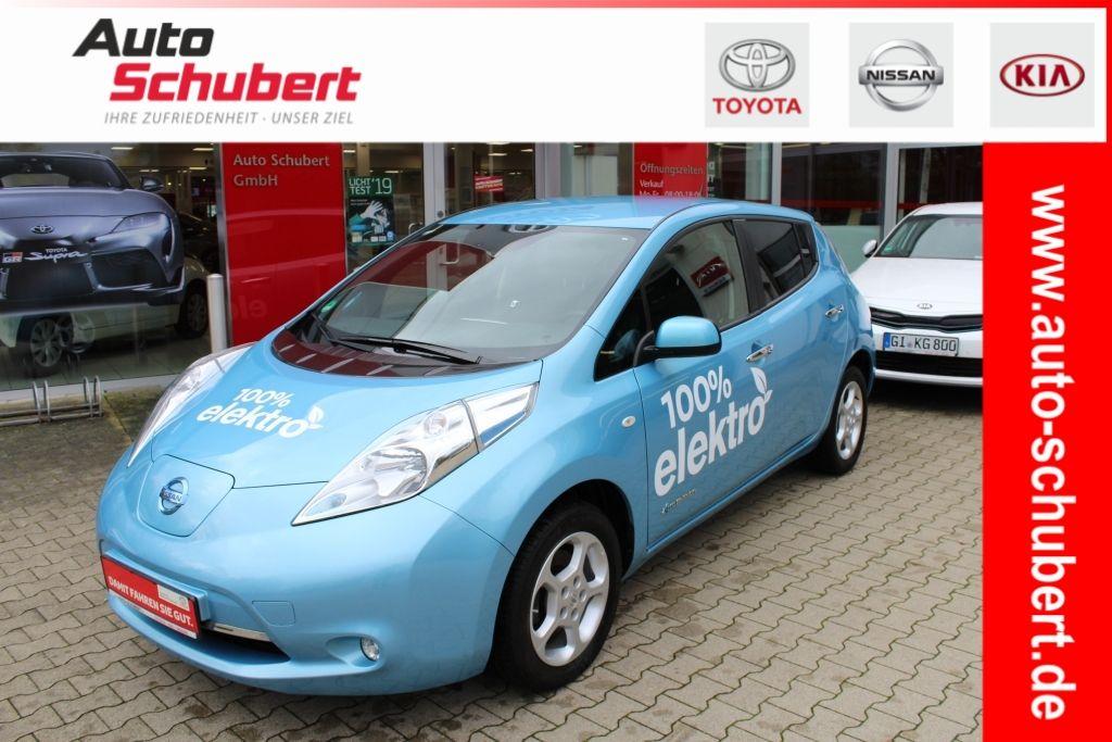 Nissan Leaf 30 kWh Acenta+Tempomat+Klima+Batteriemiete), Jahr 2016, electric