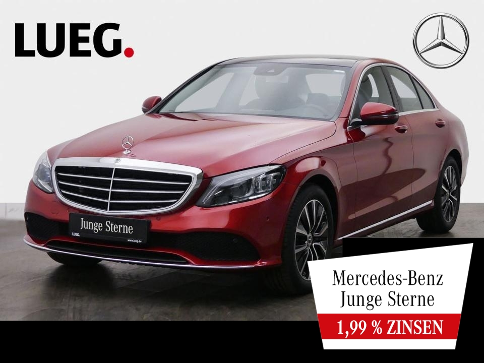 Mercedes-Benz C 300 Exclusive+COM+Pano+Mbeam+Airm+SpurP+Kamera, Jahr 2019, Benzin