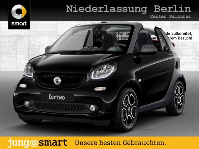 smart fortwo cabrio 66kW prime DCT cool&Audio SHZ LED, Jahr 2018, Benzin