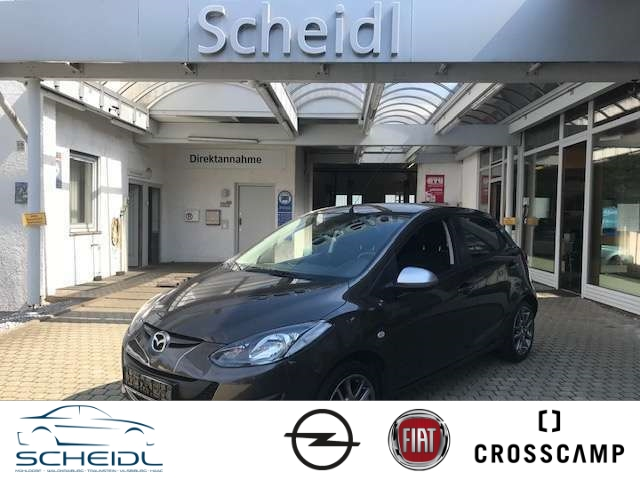 Mazda 2 1.3 Sendo Multif.Lenkrad Klimaautom SHZ PDC CD AUX USB MP3 ESP Regensensor Spieg. beheizbar, Jahr 2014, Benzin