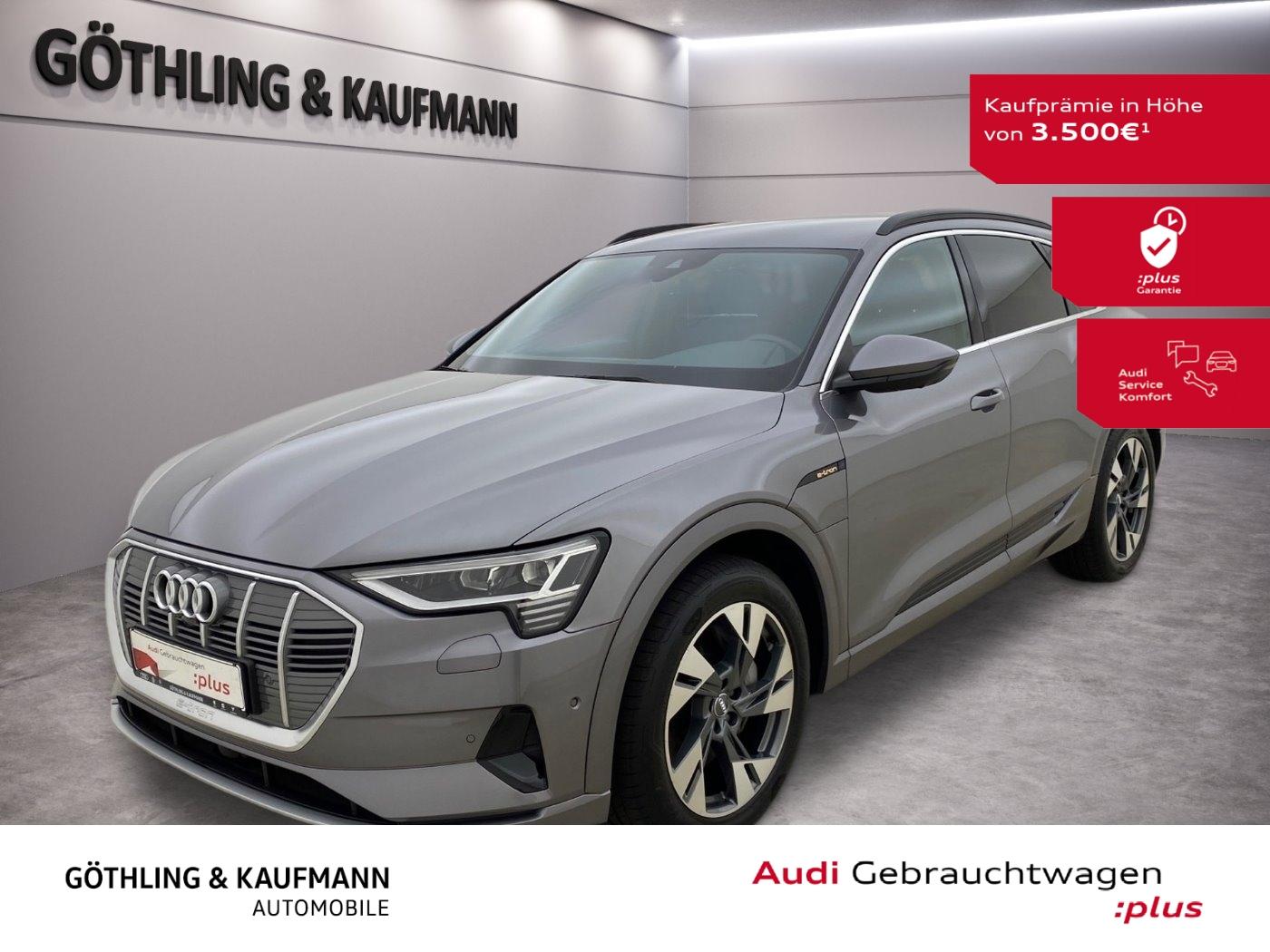 Audi e-tron 55 advanced qu.*LED*Navi+*Virtual*Connect, Jahr 2019, Elektro