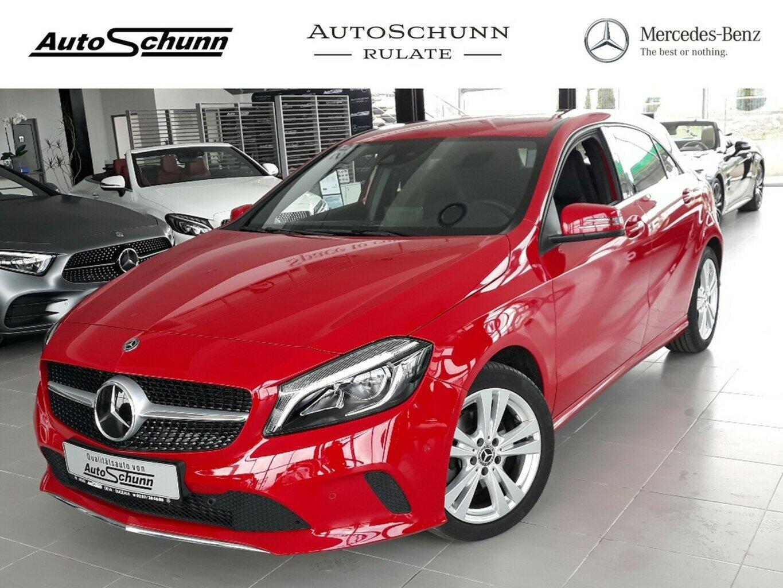 Mercedes-Benz A 220 4M-URBAN-LED-DISTRONIC-SHZ-NAVI-KLIMAAUTOM, Jahr 2017, Benzin