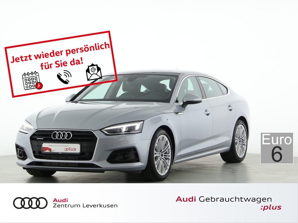 Audi A5 Sportback 2.0 TFSI quattro, Jahr 2017, Benzin