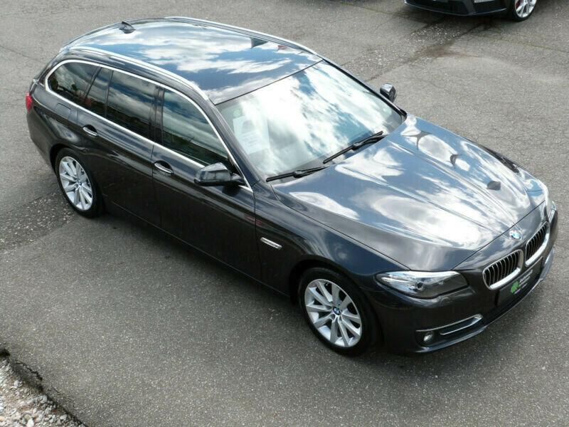 BMW 520 520d Touring Aut. LUXURY NAVI PDC XENON LEDE, Jahr 2015, Diesel