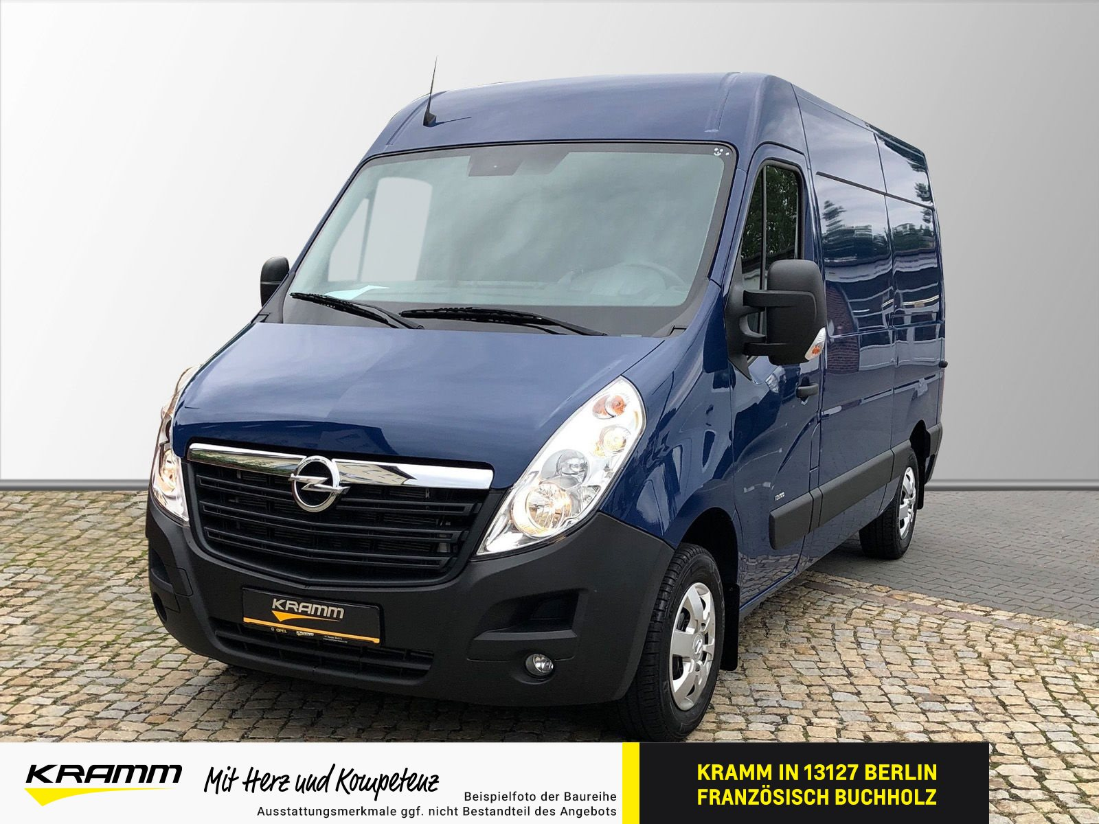 Opel Movano KAWA 2.3D 96KW Navi RFK PDC vorn AHK, Jahr 2019, Diesel