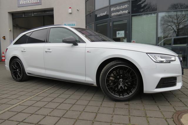 Audi A4 Avant 2.0 TFSI Quattro S Line Black Hud/Led/V, Jahr 2018, Benzin