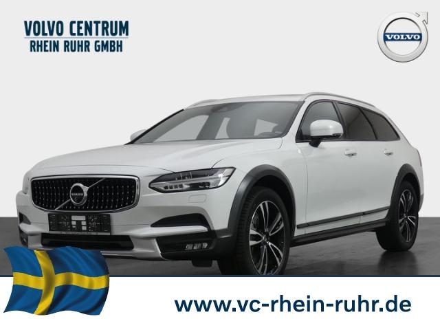 Volvo V90 Cross Country AWD D4 Leder LED Navi Keyless Kurvenlicht e-Sitze HUD Rückfahrkam., Jahr 2018, Diesel