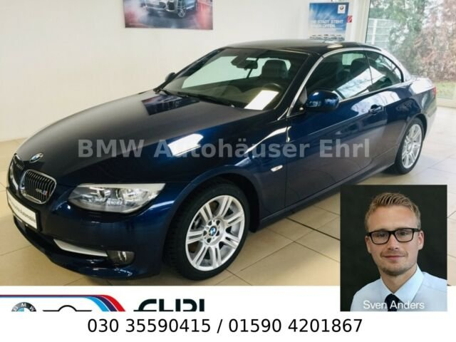 "BMW 325i Cabrio Navi Leder Xenon PDC Sitzhzg 17""LM, Jahr 2012, Benzin"