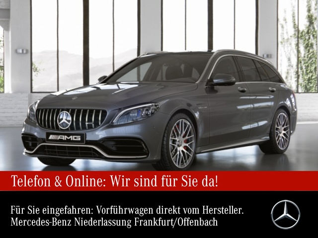 Mercedes-Benz C 63 S T-Modell Sportpaket Bluetooth Navi LED, Jahr 2020, Benzin