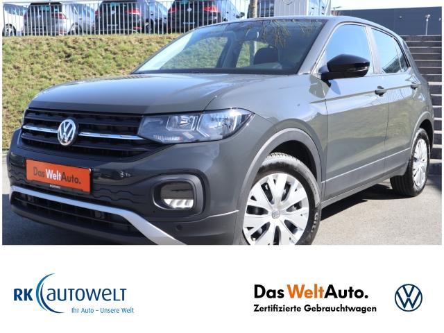 Volkswagen T-Cross Basis 1.0 TSI ACC PDCv+h LED-hinten Multif.Lenkrad RDC Klimaautom, Jahr 2019, Benzin