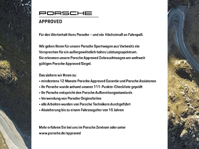 Porsche Boxster 718 Lenkradheizung Navigation Erstbesitz, Jahr 2018, Benzin