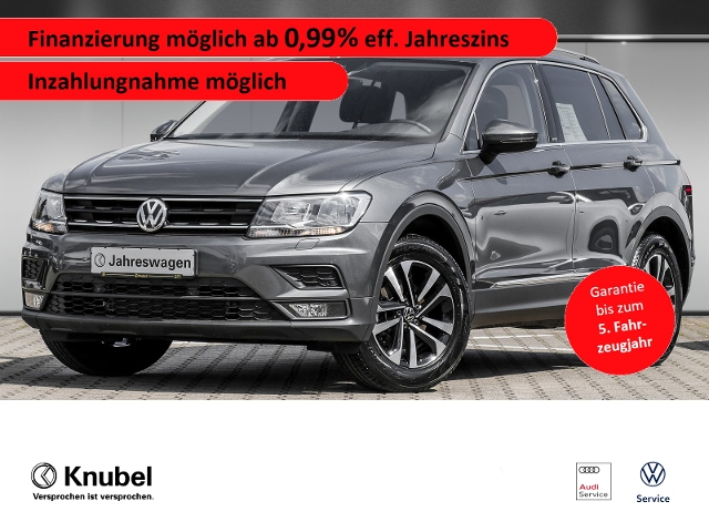 Volkswagen Tiguan United 1.5 TSI*AHK*Nav*SHZ*Garantie, Jahr 2020, Benzin