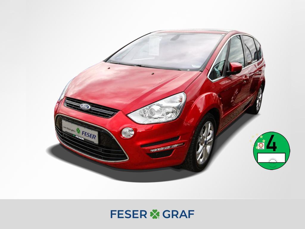 Ford S-Max 2.0 Ecoboost SCTi Titanium BI-XENON+PANO, Jahr 2013, petrol