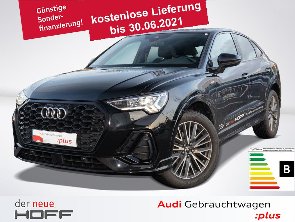 Audi Q3 Sportback 35 TFSI S-Line Pano LED 19Zoll Rück, Jahr 2020, Benzin
