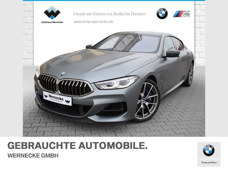 BMW M850i xDrive Gran Coupé B&W Surround DAB WLAN, Jahr 2019, Benzin