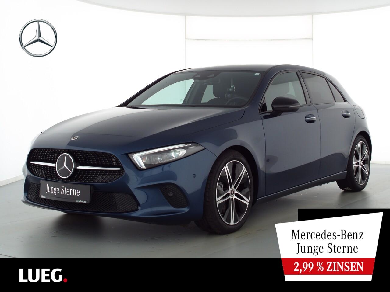 Mercedes-Benz A 220 4M Progressive+MBUX+NavPr+Mbeam+Distr+KeyG, Jahr 2020, Benzin