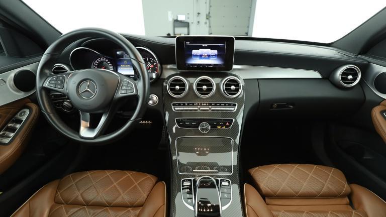 Mercedes-Benz C 450 AMG 4M T Designo Raute braun Pano. Kamera, Jahr 2015, Benzin