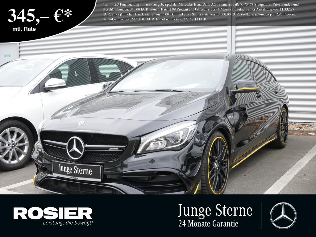 Mercedes-Benz CLA 45 AMG SB 4M, Jahr 2017, Benzin