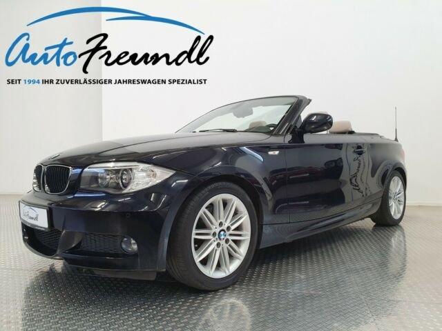 BMW 120d Cabrio *M Sport*H&K*Leder*Xenon*DAB*, Jahr 2013, Diesel