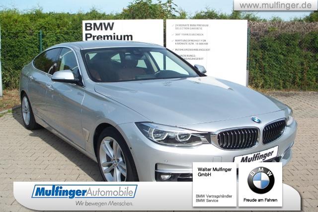 BMW 335dA xDr GT Luxury Line HUD Adap.-LED Navi Prof, Jahr 2016, diesel