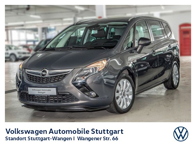 Opel Zafira Tourer 1.6 CDTI Style Navi PDC SHZ GRA, Jahr 2014, Diesel