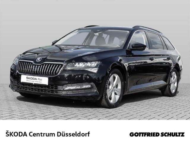 Skoda Superb Combi 2 0 TDI DSG CLIMA NAVI PDC Ambition, Jahr 2021, Diesel