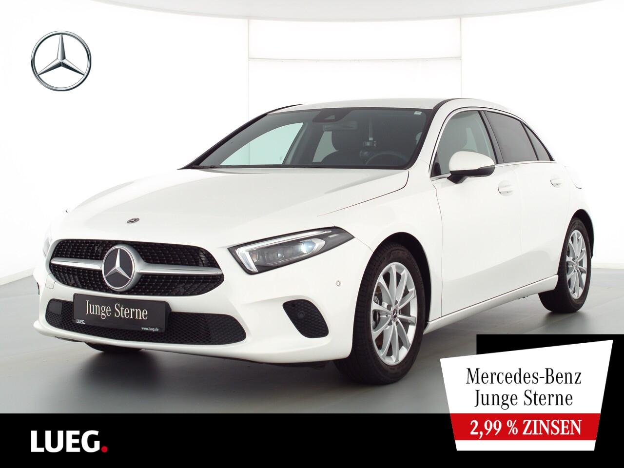 Mercedes-Benz A 160 Progressive+MBUX+NavPrem+Mbeam+AParkAssist, Jahr 2019, Benzin