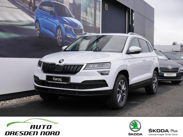 Skoda KAROQ DRIVE 2,0 TDI 140 kW DSG 4x4, Jahr 2020, Diesel