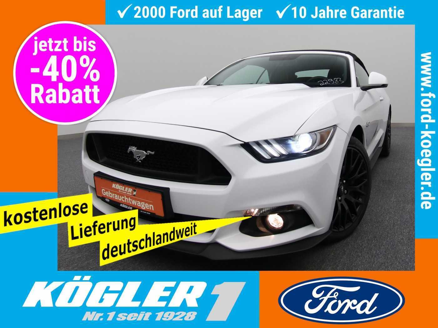Ford Mustang Cabrio V8 GT 5.0/Premium-Paket 2, Jahr 2017, Benzin