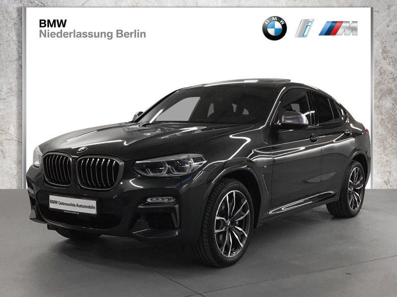BMW X4 M40d EU6d-Temp Aut. LED Navi Prof. Glasdach, Jahr 2018, Diesel