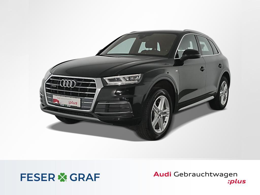 Audi Q5 2.0 TDI qu.S tronic S Line LED,Navi,Leder,19, Jahr 2017, Diesel