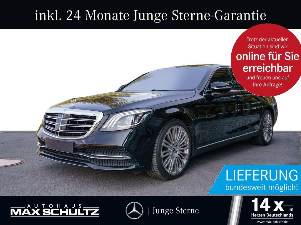 Mercedes-Benz S 400 d 4M Sitzklima*Burmester*Comand*Distronic, Jahr 2017, Diesel