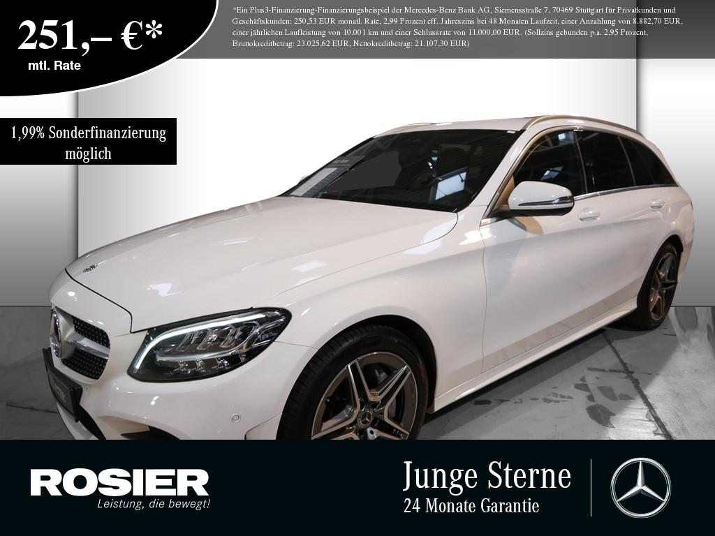 Mercedes-Benz C 400 T 4M AMG Line, Jahr 2018, Benzin