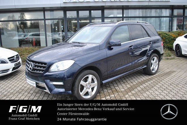 """Mercedes-Benz ML 350 BT AMG/COMAND/SHD/H&K/Sitzheizung/19"""", Jahr 2012, diesel"""