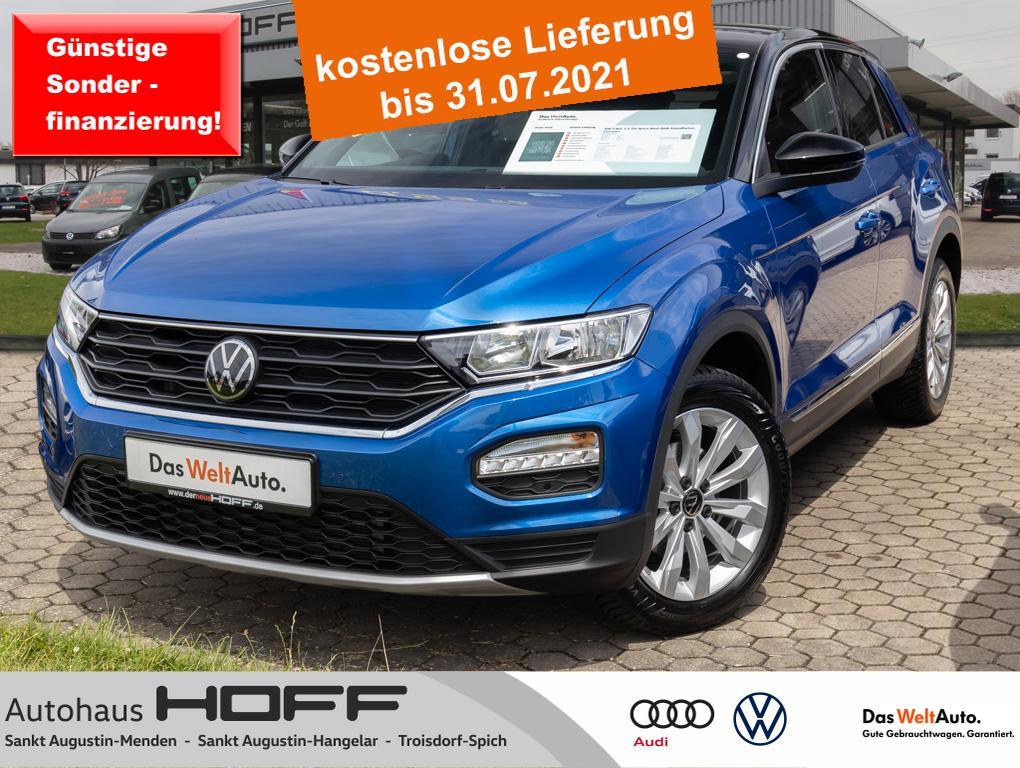 Volkswagen T-Roc 1.5 TSI Sport Navi AHK Standheizung Anschl, Jahr 2020, Benzin